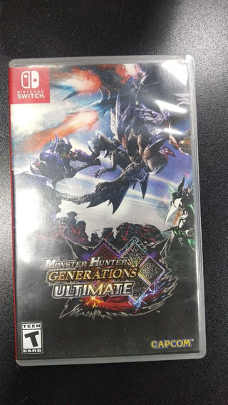 Monster Hunter Generations Nintendo Switch (frete 18 Reais)
