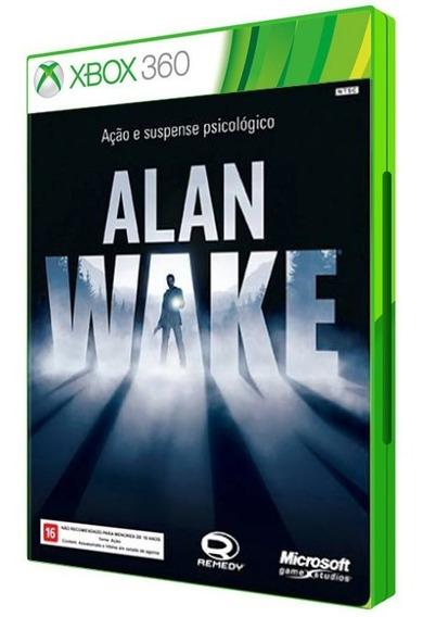 Alan Wake - Xbox 360 Mídia Física Original Lacrado Dvd Novo