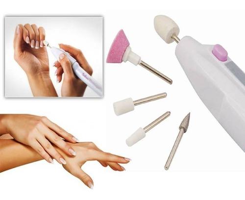 Decorador De Uñas, Kit Pulidor Manicure 5 Pc, Pedicure.