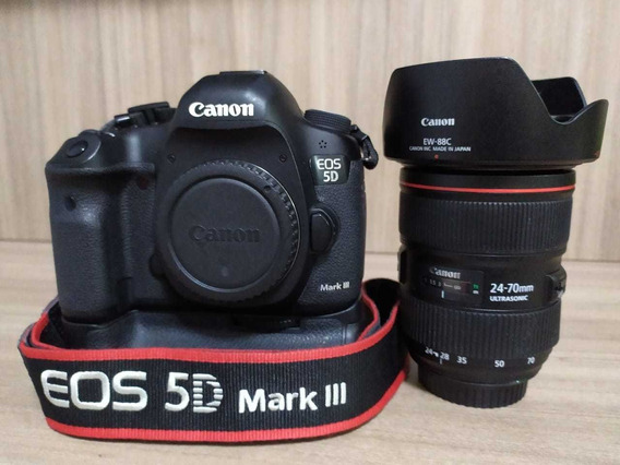 Canon Eos 5d Mark Iii C Lentes 24-70