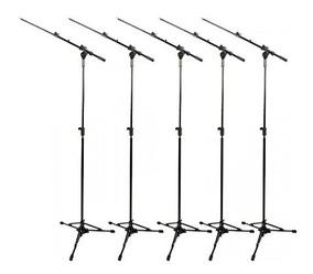 Pedestal Suporte Microfone Rmv Girafa Psu 0090 Pró Kit C/ 5