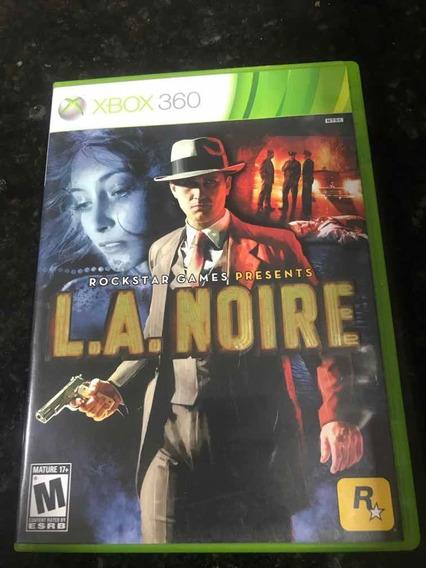 Jogo Xbox 360 L.a. Noire Original Mídia Física