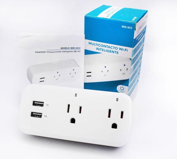 Contacto Multiple Wifi Asistentes Inteligentes Puerto Usb