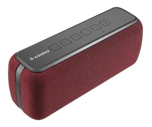 Imagen 1 de 2 de Bocina Xdobo X8 portátil con bluetooth roja