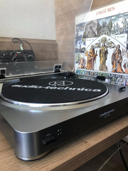 Toca Discos Audio Technica At-lp60 + Edifier R1280t