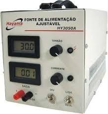 Fonte Ajustavel 1,2v A 30v Hy3050a Hayama