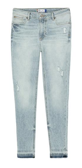 Jeans Super Skinny De Mujer C&a Con Ligeras Destrucciones