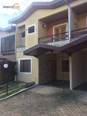 Sobrado Com 3 Dormitórios Para Alugar, 120 M² Por R$ 2.200/mês - So0740