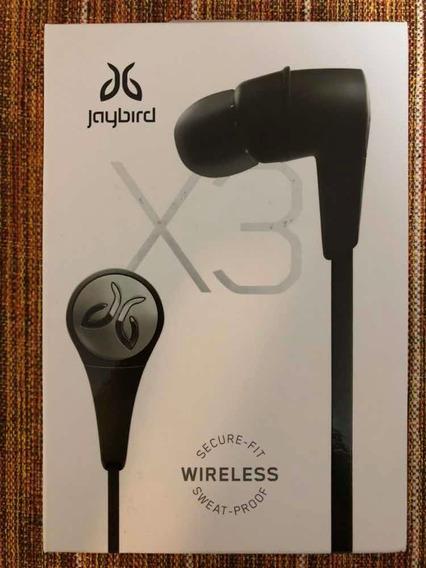 Fone De Ouvido Bluetooth Esportivo Jaybird X3