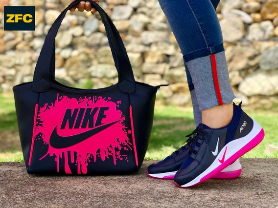 Zapatos Colombianos Combo Bolso Y Zapatilla Deportiva