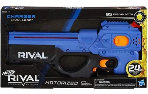 Lanca Dardo Nerf Rival Mxx 1200 Azul