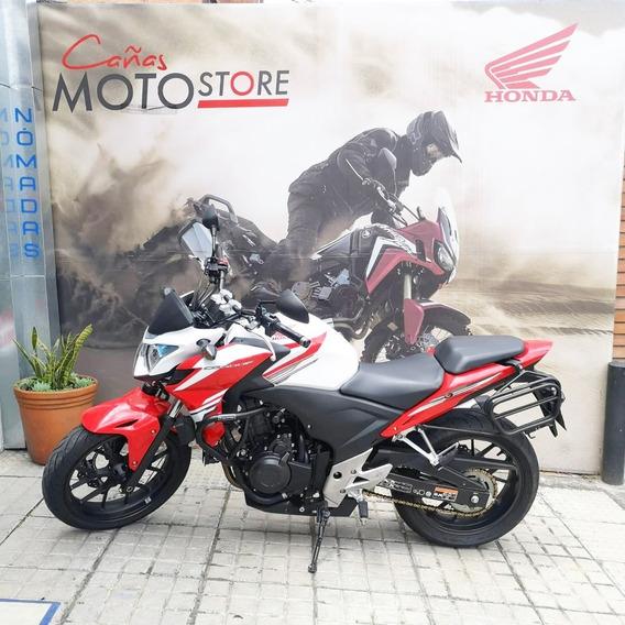 Honda Cb500f Blanco Rojo 2015