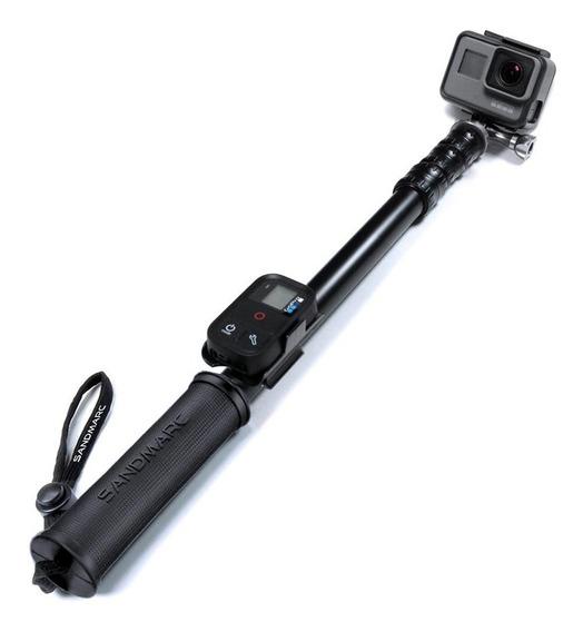 Bastão Ext Selfie Pole Metal Edition Sandmarc Gopro Sjcam