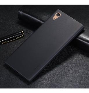 Case Top Fina Fosca Cel Xperia Xa Ultra 6.0 + Pelicula Gel