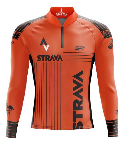 Camisa Mtb Ciclista Spartan New (f) M/l Ref 02.2 Uv 50+