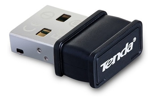 Adaptador Wifi Tenda W311mi Usb Inalambrico N150 Pico Black