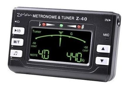 Metro Afinador Con Generador De Tono Zaion Z-40
