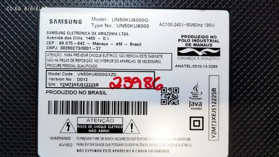 Tv Samsung 50 4k Un50ku6000gxzd( Display Queimado)