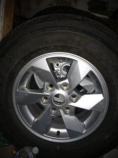 Llantas Dunlop Grandtrek Con Rines De Aluminio 245/70/16