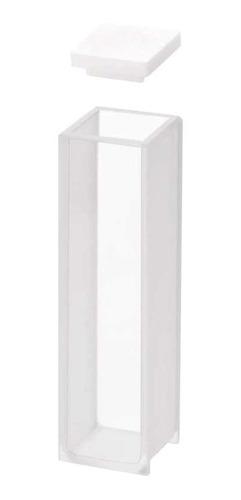 Imagen 1 de 6 de Cubeta Para Espectrofotómetro De Vidrio G4 10x10mm Vol 3.5ml