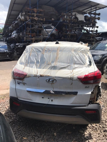 Sucata Hyundai Creta 2018/2019 166cvs Flex Branco