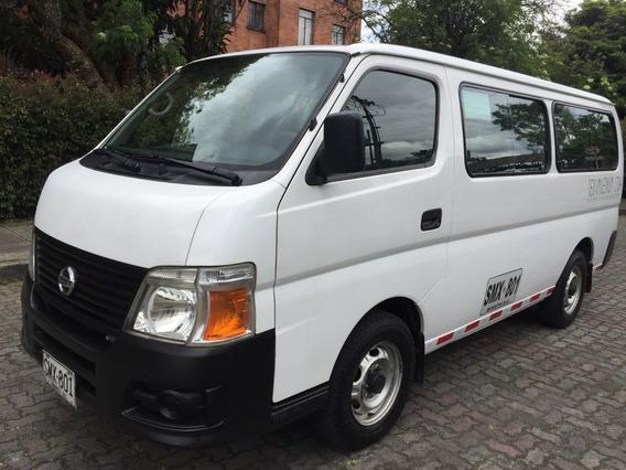 Nissan Urban 3000 Diesel 12 Pasajeros