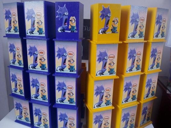 Portalapices Lapicero Golosinero Souvenirs Personalizado X10
