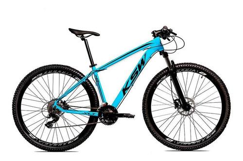 Imagem 1 de 10 de Bicicleta Alum Ksw Shimano Altus 24v Freio Hidráulico Krw19