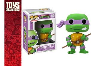 Funko Pop - Donatello 60 Tortugas Ninja Con Detalle