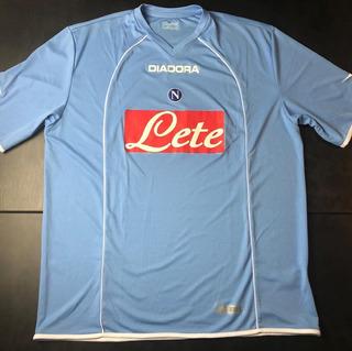 Camisa Napoli 2006-2007 Home Tam Gg (77x61) O´timo Estado