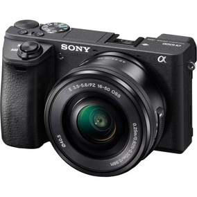 Camera,sony 4k Alpha A6500 Mirroless Kit C/16-50 C/n. Fiscal