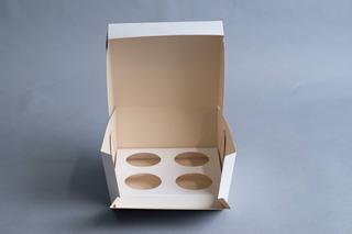 Caja Cupcake X4 (x 50 U.) Muffin 029 Bauletto