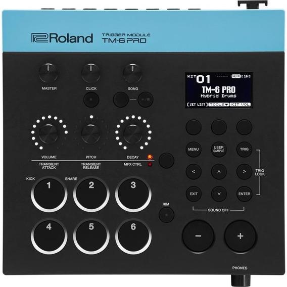 Trigger Modulo Roland Tm6 Performance Bateria Tm-6 Pro