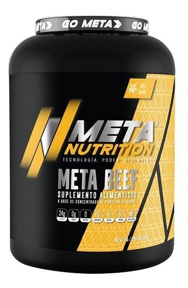 Proteina Meta Nutrition Meta Beef 4 Libras - 52 Porciones