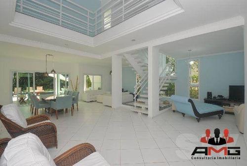 Casa Com 4 Dormitórios À Venda, 300 M² Por R$ 3.300.000,00 - Riviera - Módulo 26 - Bertioga/sp - Ca0707