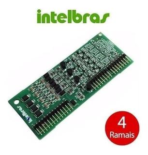 4 Ramais Desbalanceados Modulare/conecta Intelbras Usada