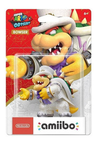 Amiibo Super Mario Odyssey - Bowser - Pronta Entrega!