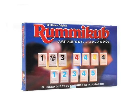 Rummi Rummy Juego De Mesa 1301557 Niños