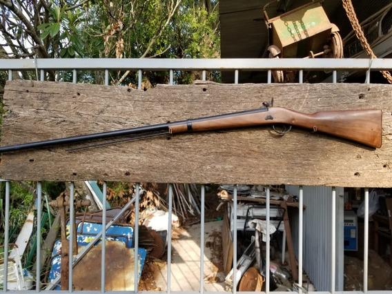 Antiguo Fusil Avancarga Francés 1840 Rifle Para Decoracion