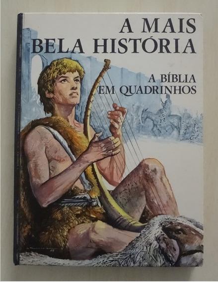 A Bíblia Em Quadrinhos - Ed. Paulinas - Livro Raro - 1972