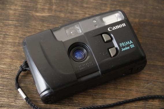 Canon Prima Junior Dx - Câmera Analógica
