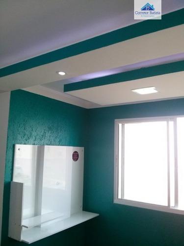 Imagem 1 de 15 de Apartamento A Venda No Bairro Recanto Fortuna Em Campinas - - 2720-1