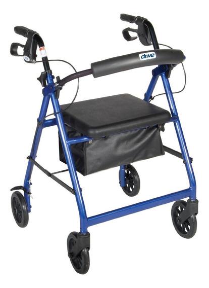 Andadera Ortopedica Rollator Aluminio Asiento Envio Gratis