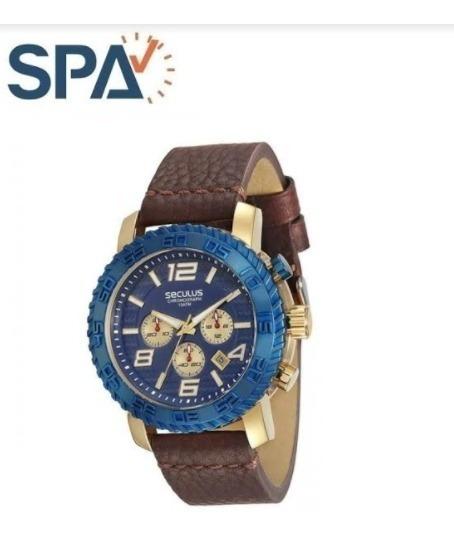 Relógio Seculus 28674gpsvlc3 100% Original