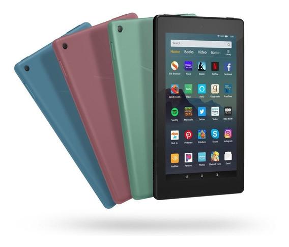Tablet Amazon Fire 7 Con Alexa 16g 2019 Selladas Colores+