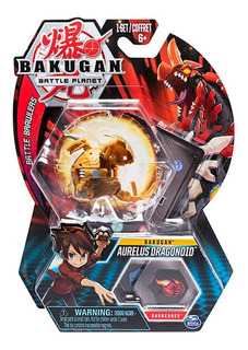 Bakugan Pack X 1 Varios Personajes Con Cartas Original 64422