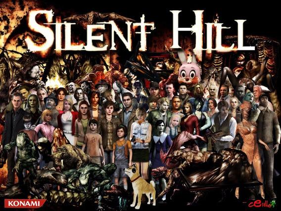 Silent Hill Collections Pc (mídia Física)