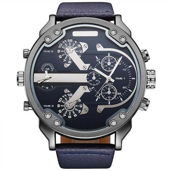 Relógio Masculino Oulm Original Importado Frete Grátis
