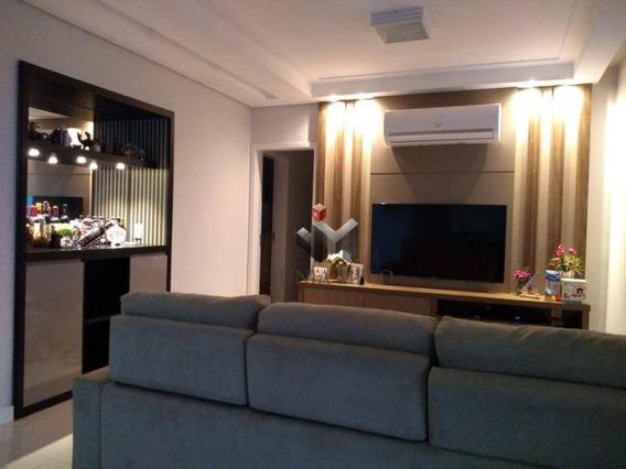 Apartamento Com 3 Dormitórios Para Alugar, 128 M² Por R$ 2.700/mês - Edificio Praças Do Golfvila Do Golf - Ribeirão Preto/sp - Ap1980