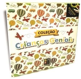 Box Coleção Crianças Geniais - 8 Livros - Frete Grátis